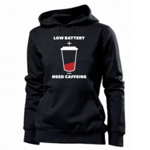 Women's hoodies Low battery