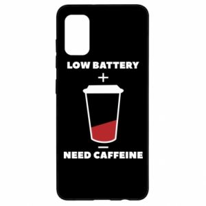 Samsung A41 Case Low battery