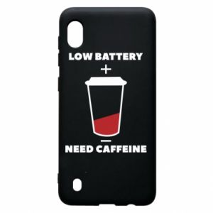 Samsung A10 Case Low battery