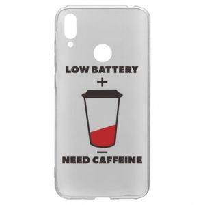 Etui na Huawei Y7 2019 Low battery