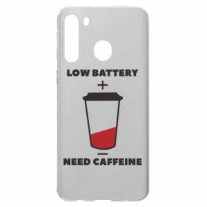 Etui na Samsung A21 Low battery