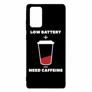 Etui na Samsung Note 20 Low battery