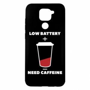 Etui na Xiaomi Redmi Note 9/Redmi 10X Low battery