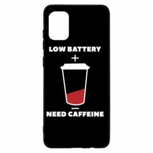 Etui na Samsung A31 Low battery