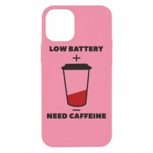 Etui na iPhone 12 Mini Low battery