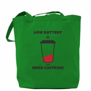 Bag Low battery