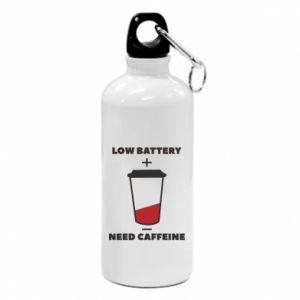 Bidon turystyczny Low battery