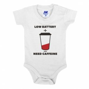 Baby bodysuit Low battery