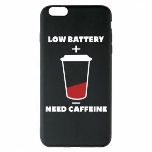 Phone case for iPhone 6 Plus/6S Plus Low battery