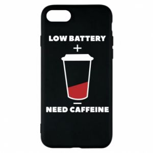 Phone case for iPhone 7 Low battery