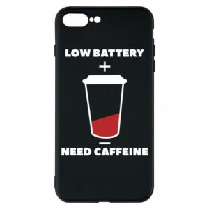 Phone case for iPhone 7 Plus Low battery