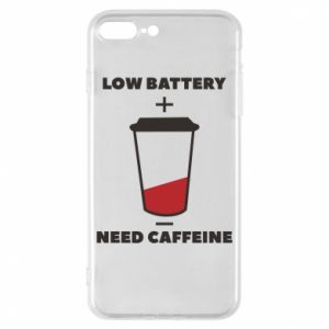 Phone case for iPhone 8 Plus Low battery