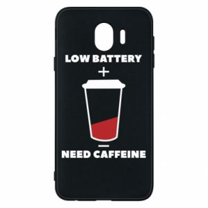 Phone case for Samsung J4 Low battery