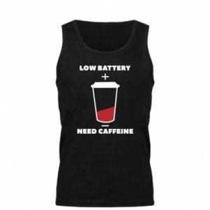 Męska koszulka Low battery