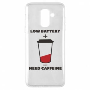 Phone case for Samsung A6+ 2018 Low battery