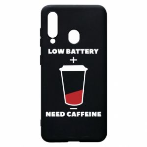 Phone case for Samsung A60 Low battery