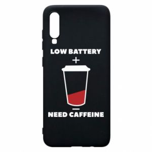 Phone case for Samsung A70 Low battery