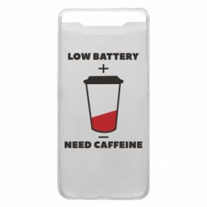 Phone case for Samsung A80 Low battery