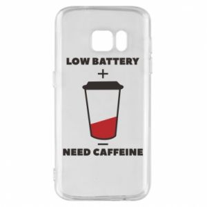Phone case for Samsung S7 Low battery