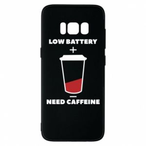 Phone case for Samsung S8 Low battery