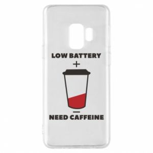 Phone case for Samsung S9 Low battery