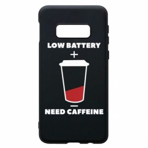 Phone case for Samsung S10e Low battery