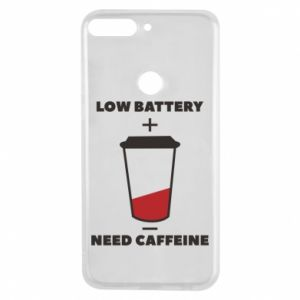 Phone case for Huawei Y7 Prime 2018 Low battery