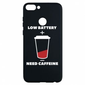 Phone case for Huawei P Smart Low battery