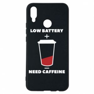 Phone case for Huawei P Smart Plus Low battery
