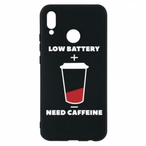 Phone case for Huawei P20 Lite Low battery