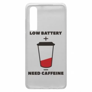 Phone case for Huawei P30 Low battery