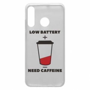 Phone case for Huawei P30 Lite Low battery