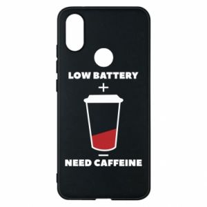 Phone case for Xiaomi Mi A2 Low battery