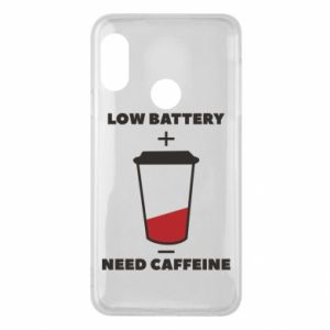 Phone case for Mi A2 Lite Low battery