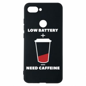 Phone case for Xiaomi Mi8 Lite Low battery