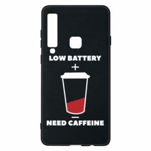 Phone case for Samsung A9 2018 Low battery