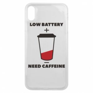 Phone case for iPhone Xs Max Low battery