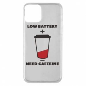 Phone case for iPhone 11 Low battery