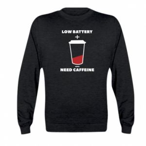 Bluza dziecięca Low battery