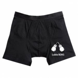 Bokserki męskie Lubię boks