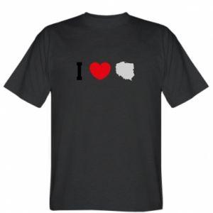 Koszulka męska Lubię Polskę