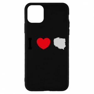 Etui na iPhone 11 Pro Lubię Polskę