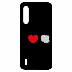 Etui na Xiaomi Mi9 Lite Lubię Polskę