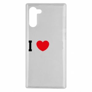 Etui na Samsung Note 10 Lubię Polskę