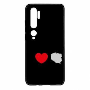 Etui na Xiaomi Mi Note 10 Lubię Polskę