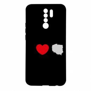 Etui na Xiaomi Redmi 9 Lubię Polskę