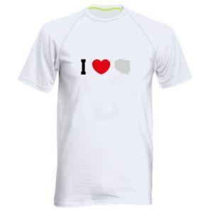 Koszulka sportowa męska Lubię Polskę