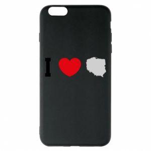 Etui na iPhone 6 Plus/6S Plus Lubię Polskę