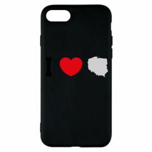 Etui na iPhone 7 Lubię Polskę