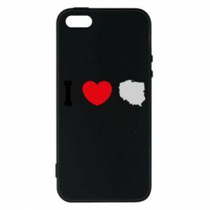 Etui na iPhone 5/5S/SE Lubię Polskę